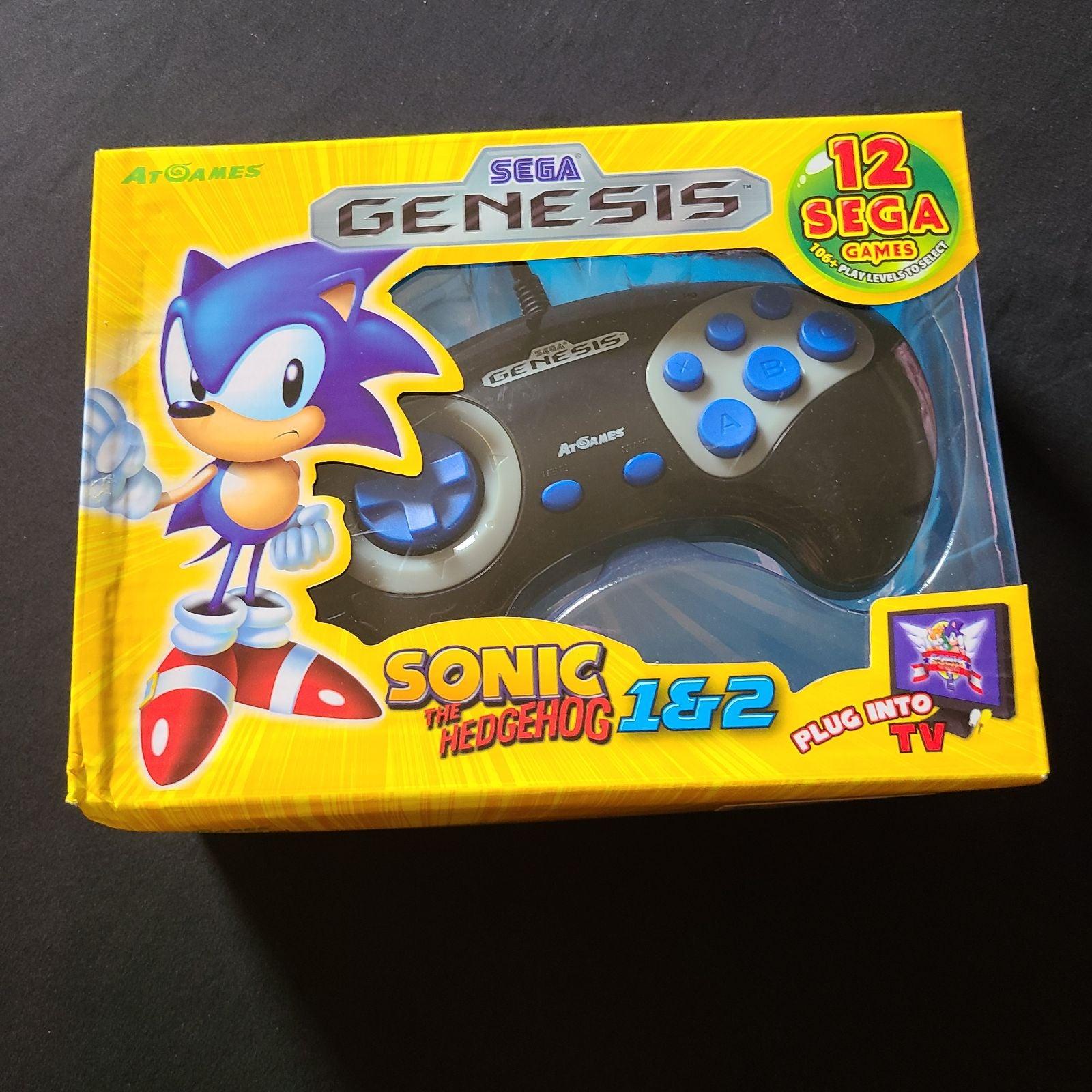 New! Sega Genesis: Sonic The hedgehog