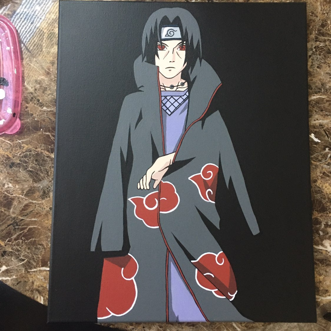 itachi canvas painting