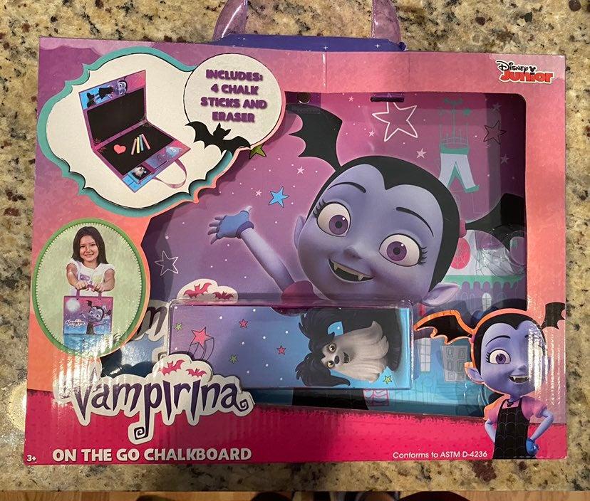 Vampirina chalkboard