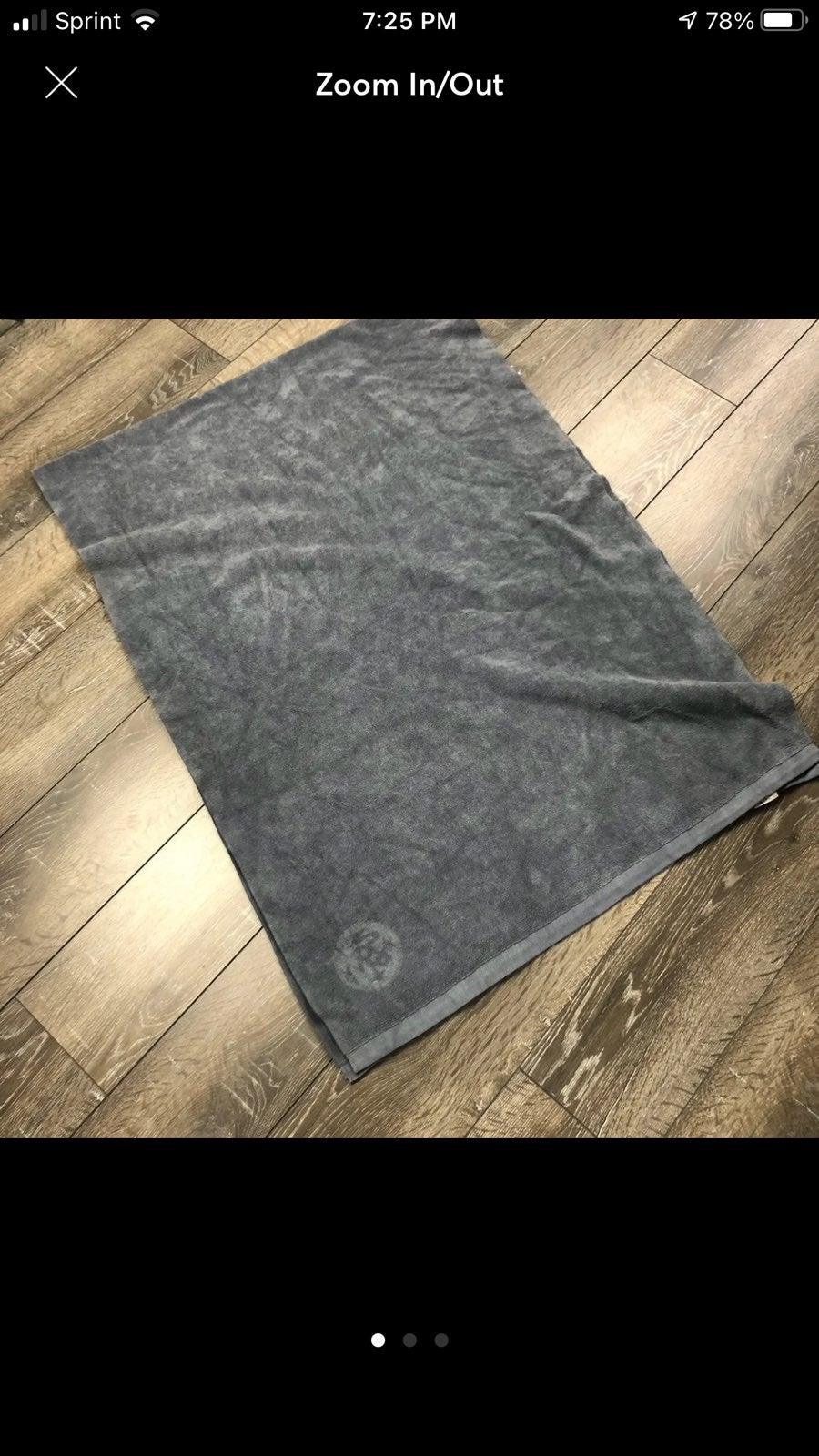 Manduka hot eQua towel