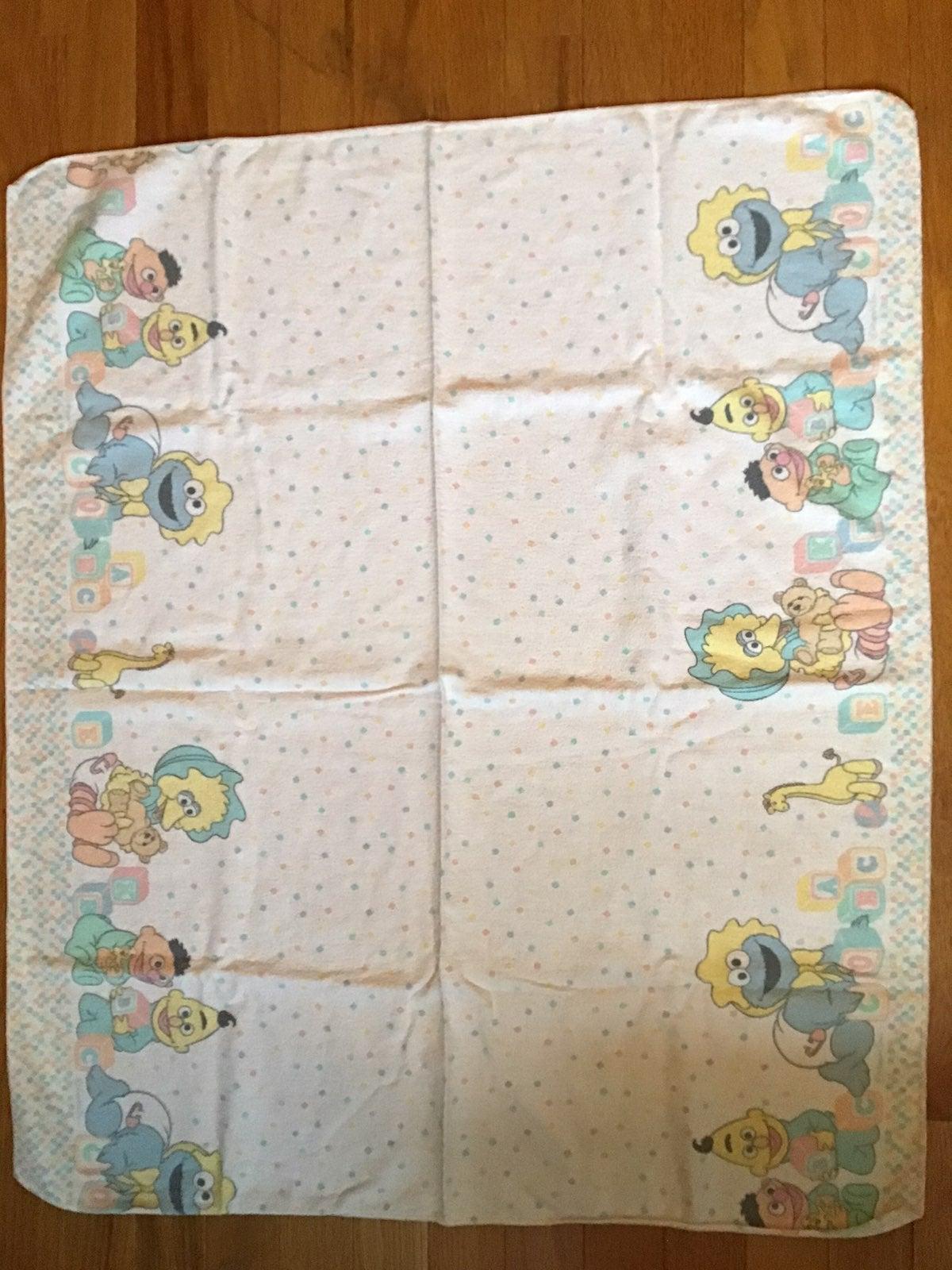 Sesame Street Receiving Blanket