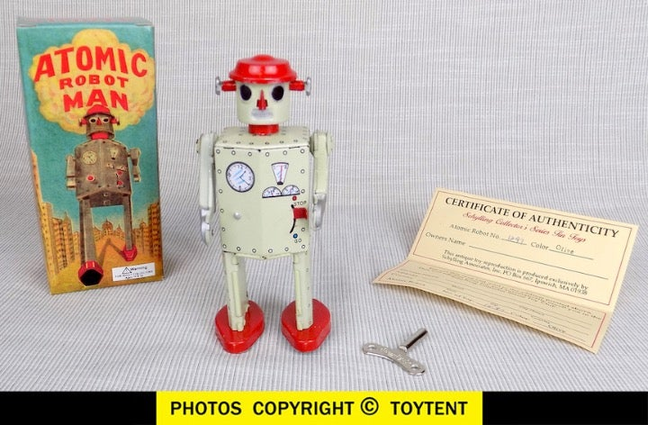 Atomic Robot Man limited edition boxed