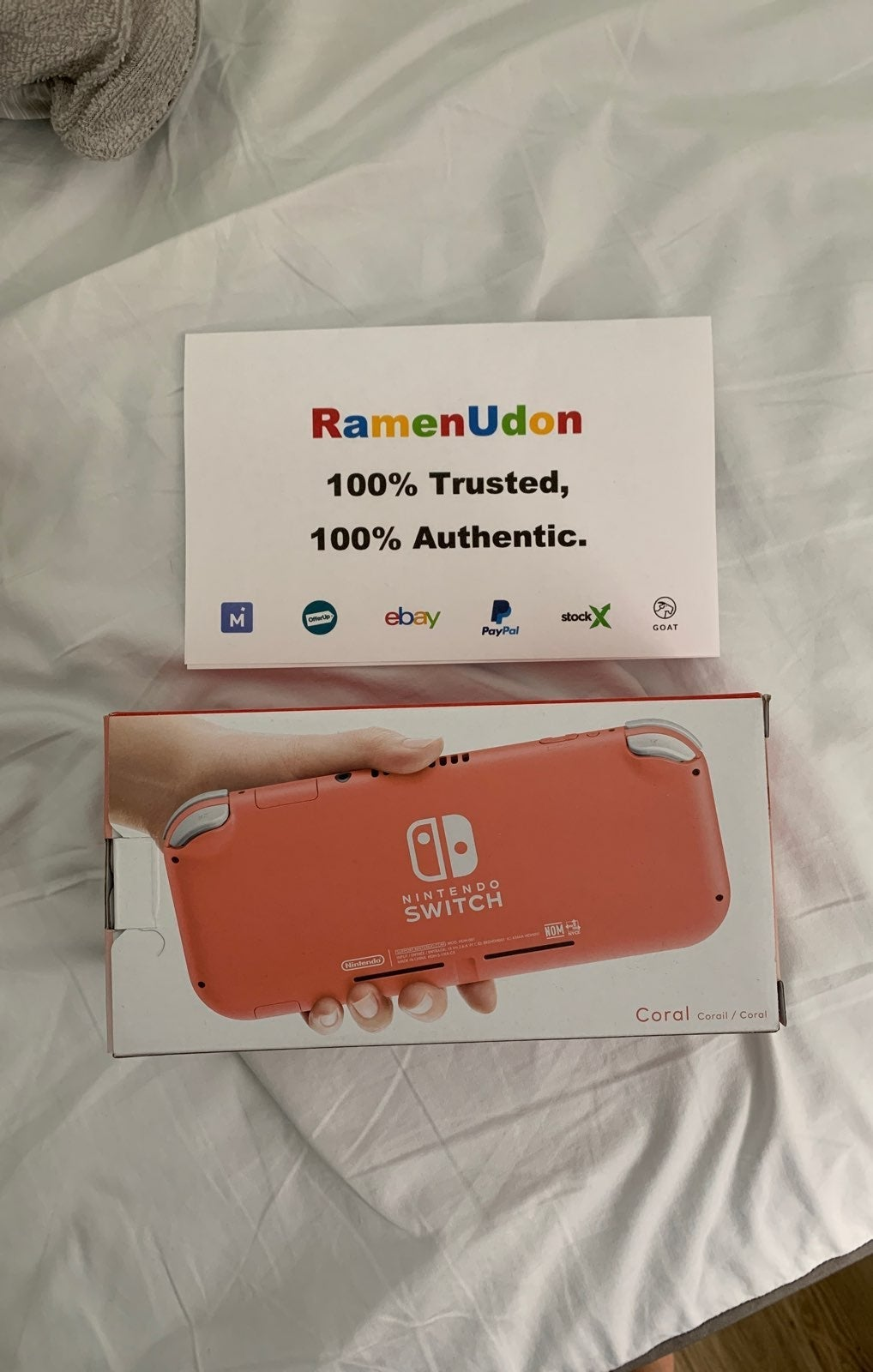 NEW Nintendo Switch Lite Coral System