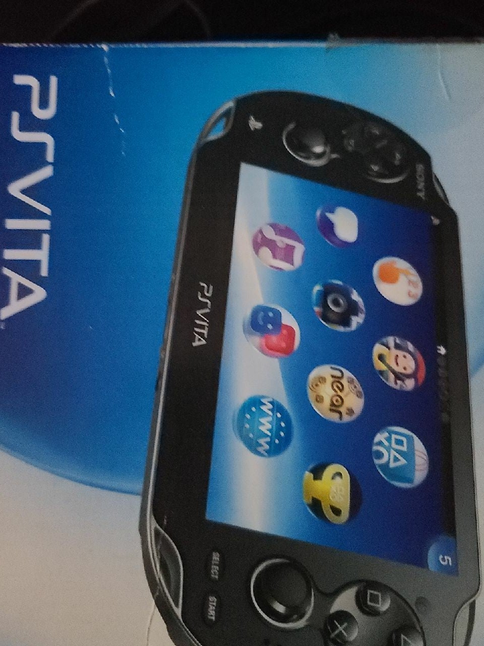 PS Vita with Game with Memory Card