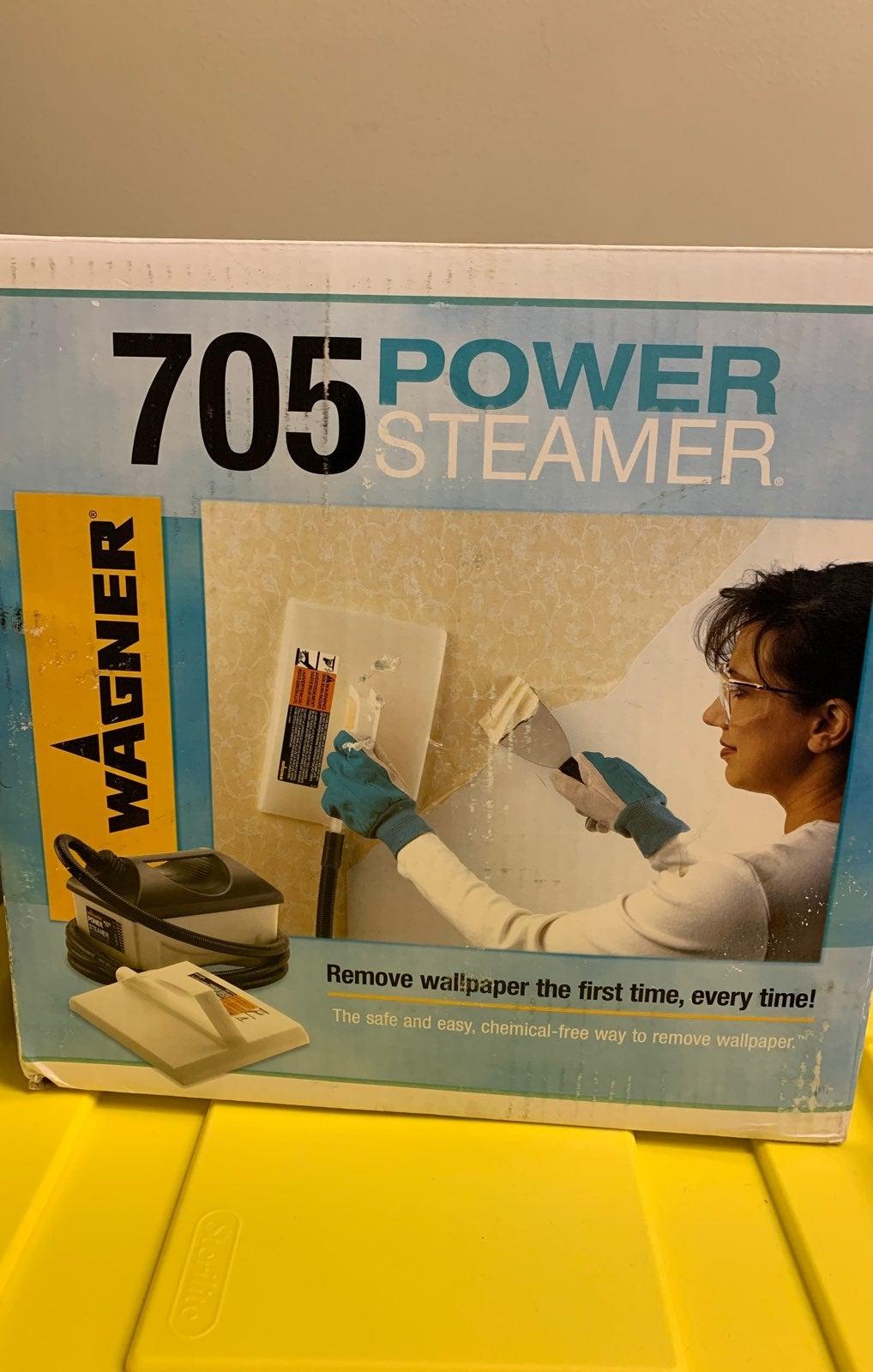 Wagner Power Steamer. Remove wallpaper.