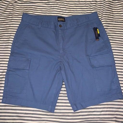 Cremieux premium denim blue shorts