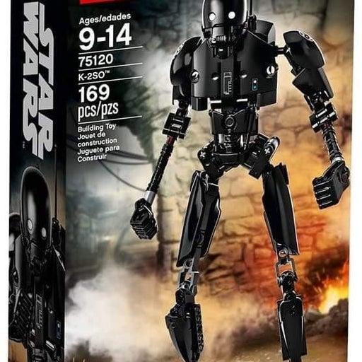 Lego Star Wars - k2s0 and darth vader bu