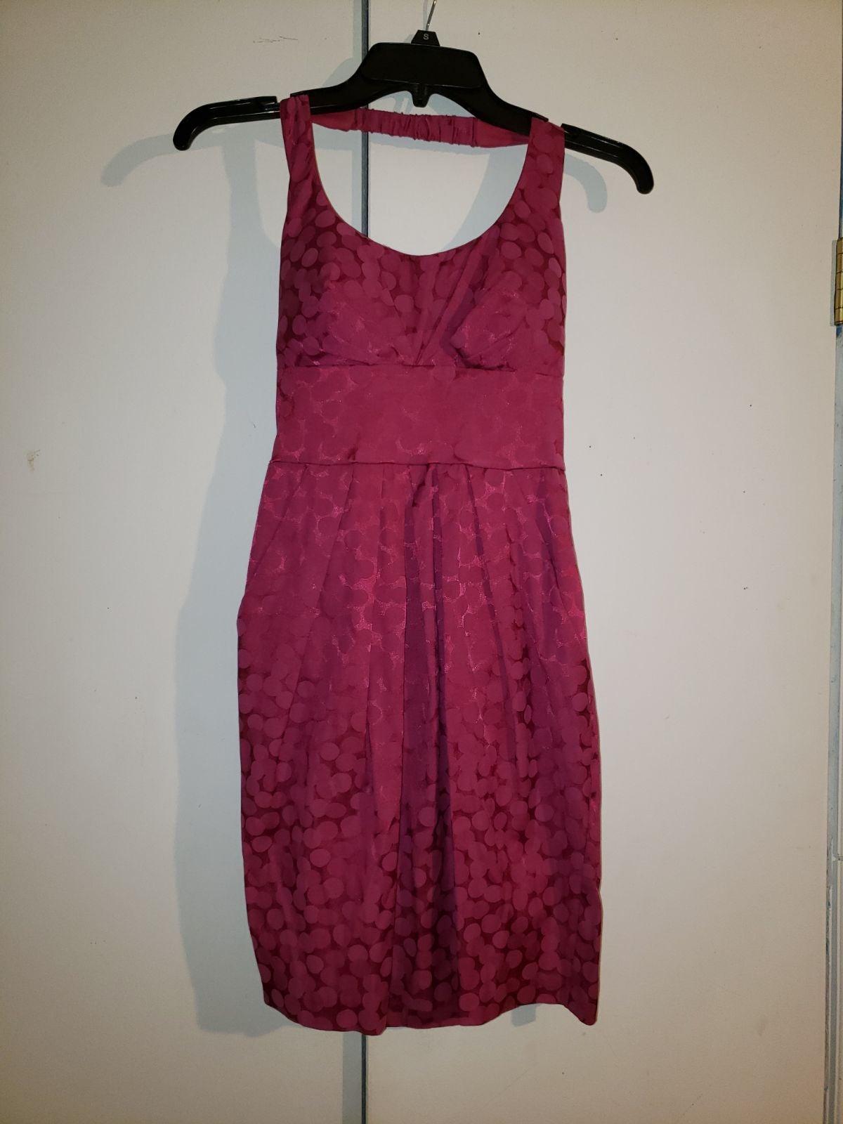 Purple Halter Dress size 3/4