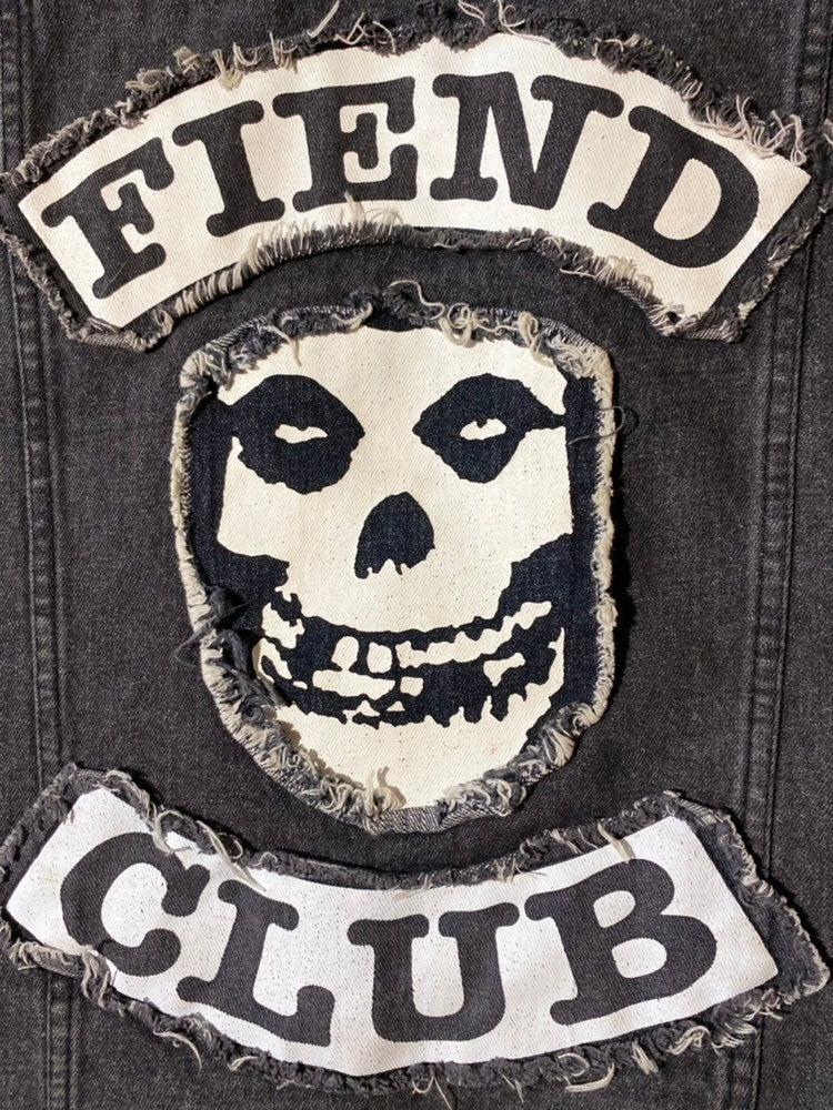 "Misfits  Small sized ""Feind Club"" Jean c"