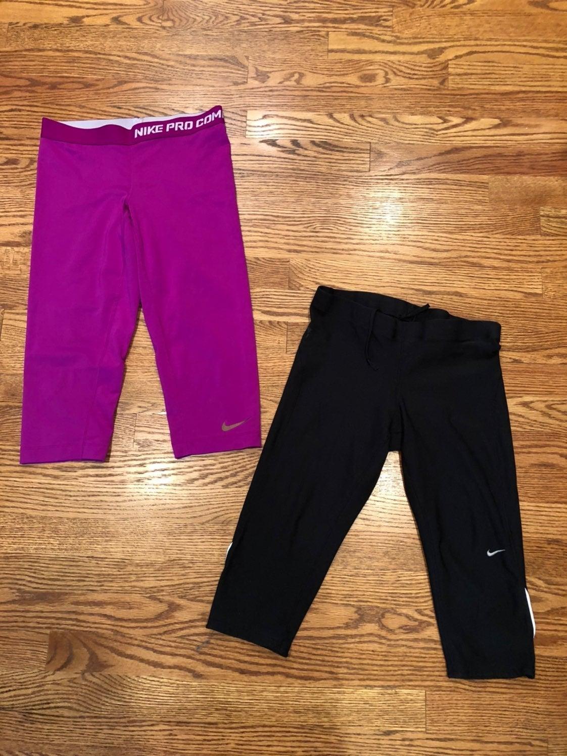 Lot if 2 Nike leggings