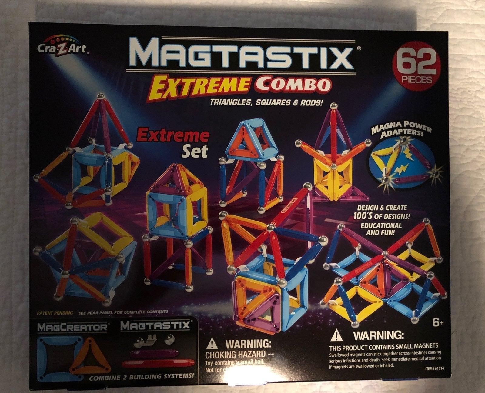 Magtastix 62 Piece Set