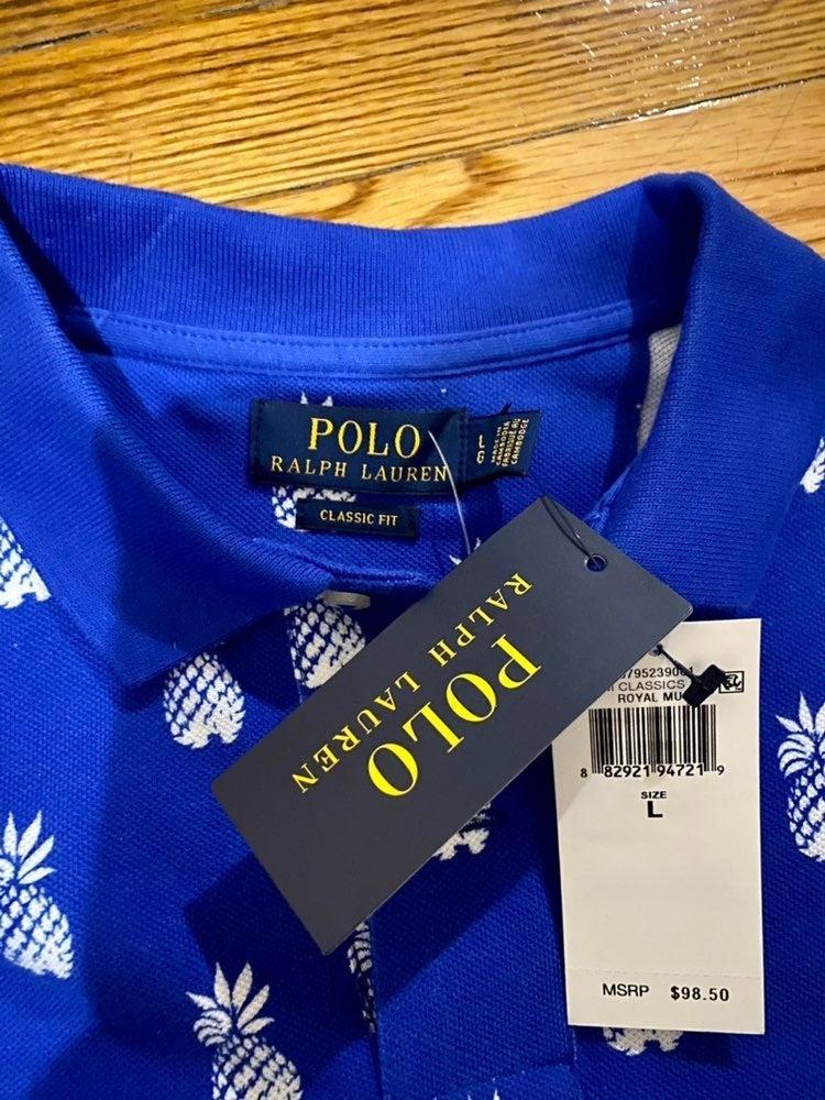 Ralph Lauren Pinapple Polo Shirt