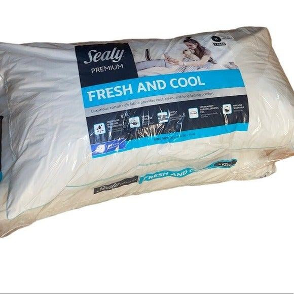 Sealy Fresh and Cool stain release moisture wick