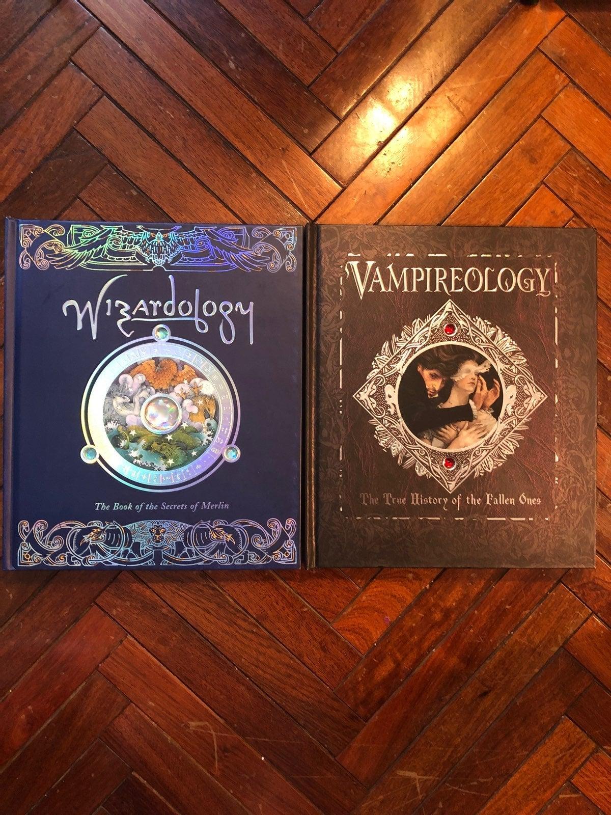 Wizardology And Vampireology Books!