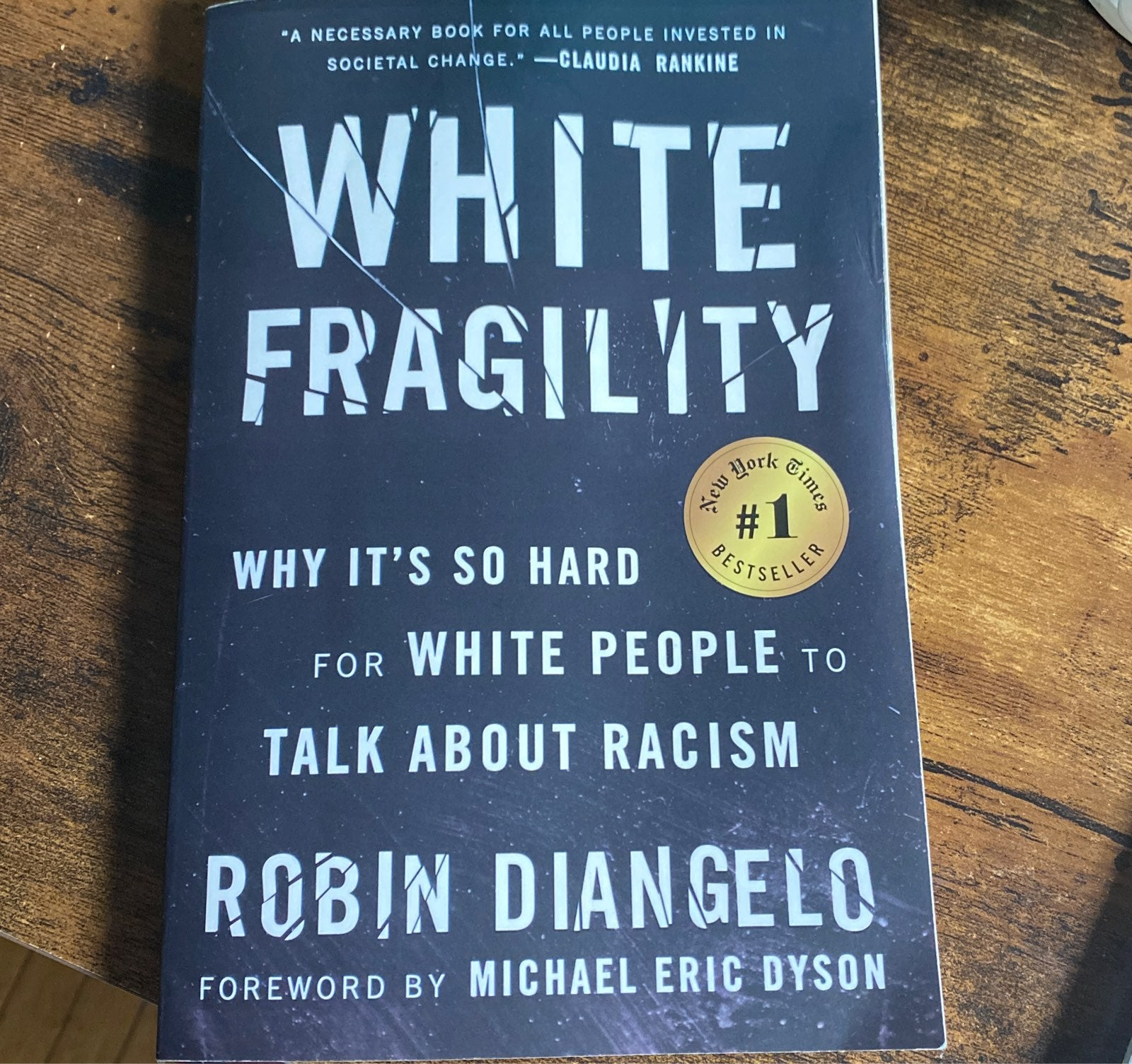 White Fragility Book by Robin DiAngelo
