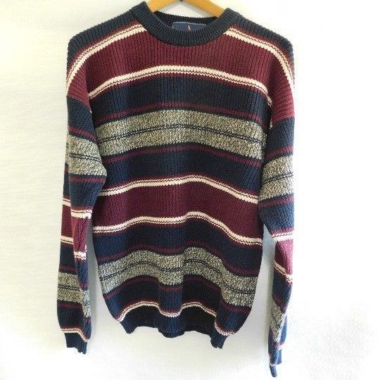 John Ashford 100% Cotton Lg Sweater