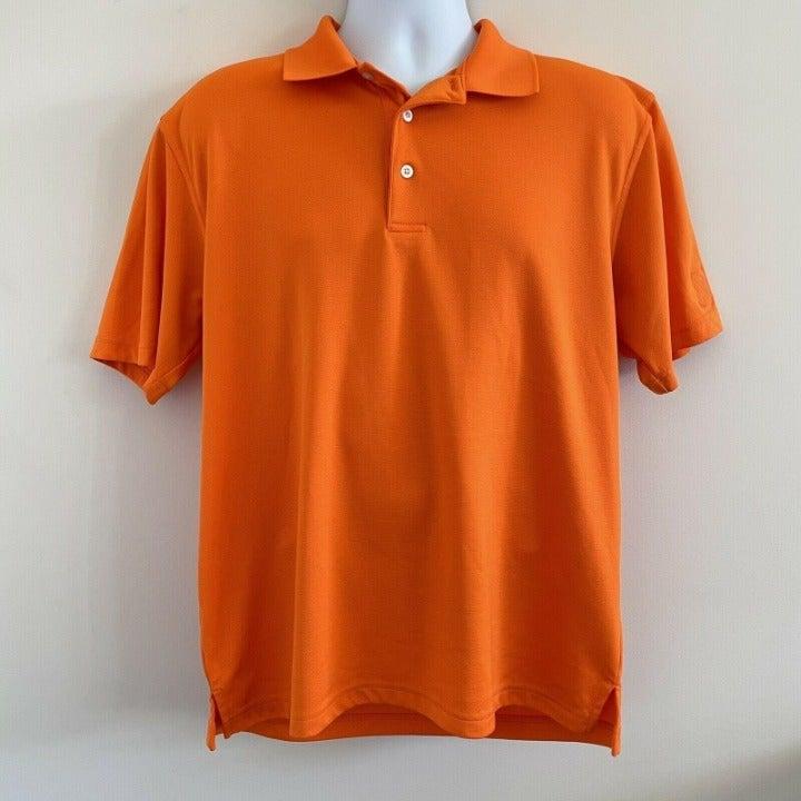 PGA Tour Golf Polo Airflux Orange L