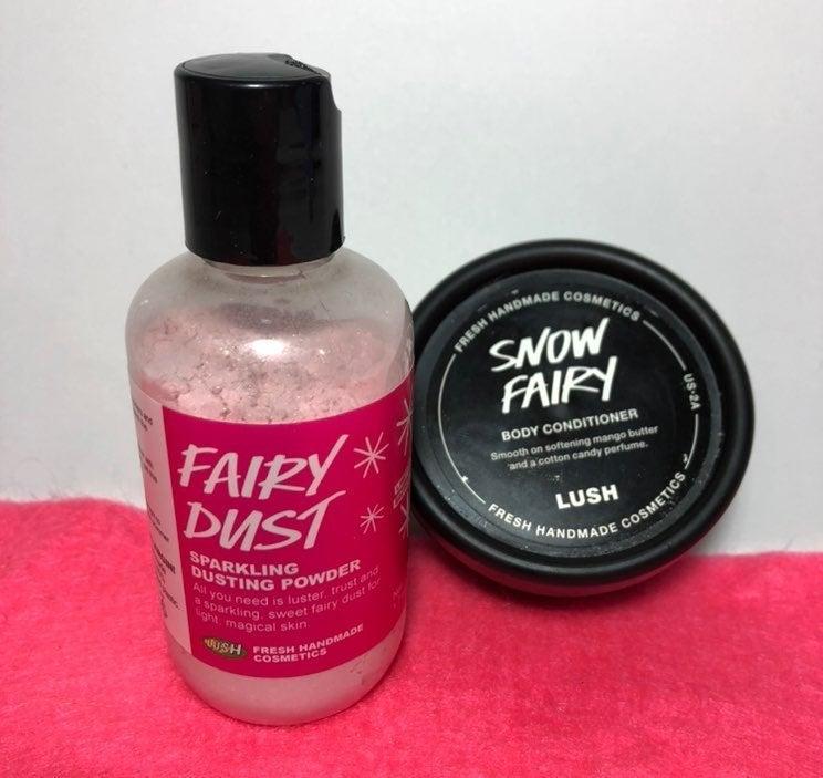 LUSH Snow Fairy Dust & Body Conditioner