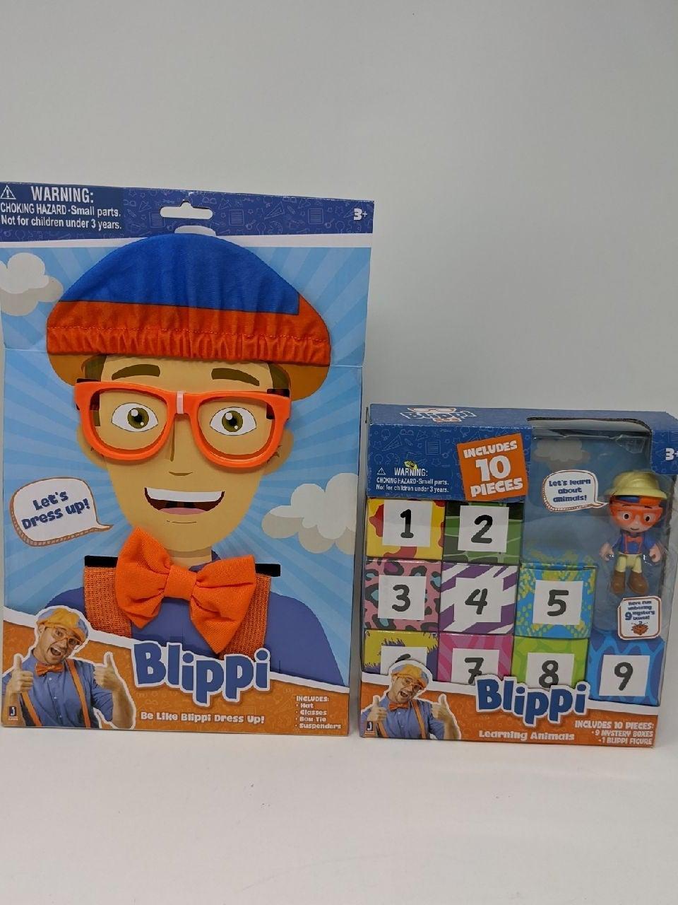 Blippi Toys Gift Set bundle