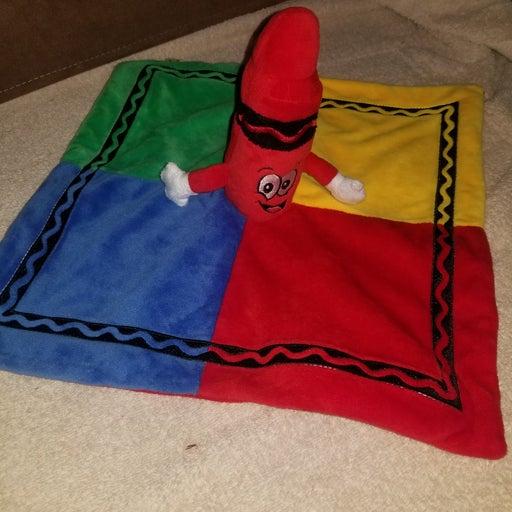 Crayola security blanket baby