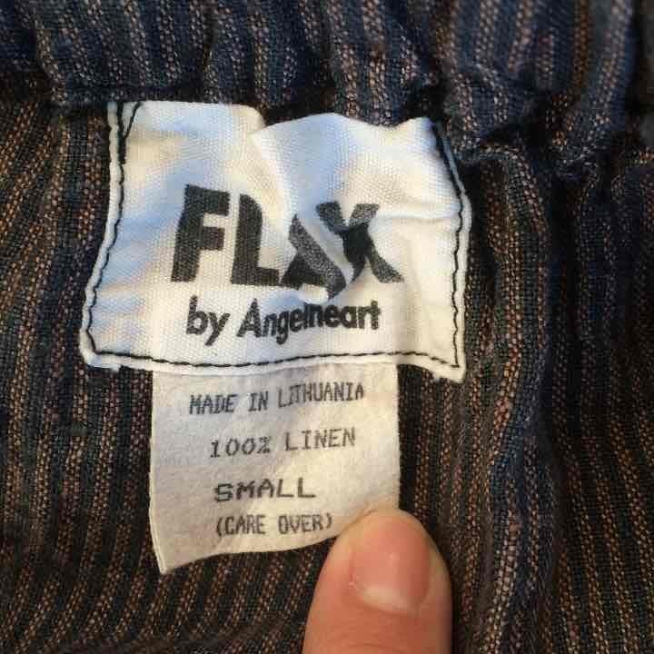 Flax by Angelhardt Midi Button Skirt