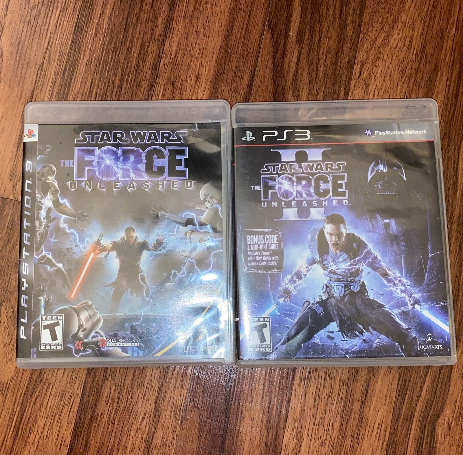 Star Wars Force Unleashed I & II PS3