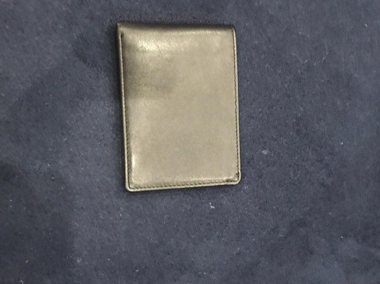7 For All Mankind Black Bi-fold Wallet