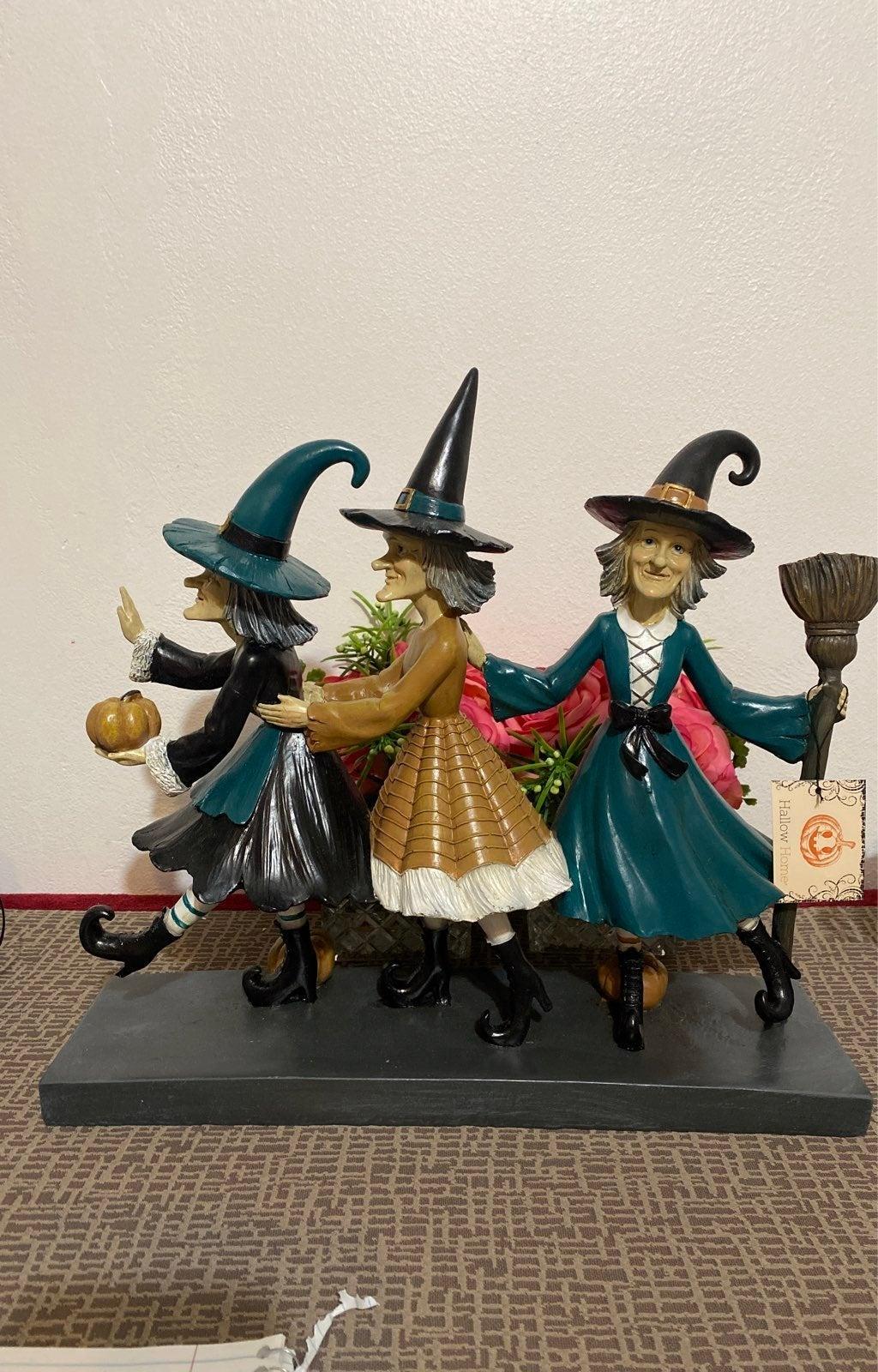 Three Halloween Witches