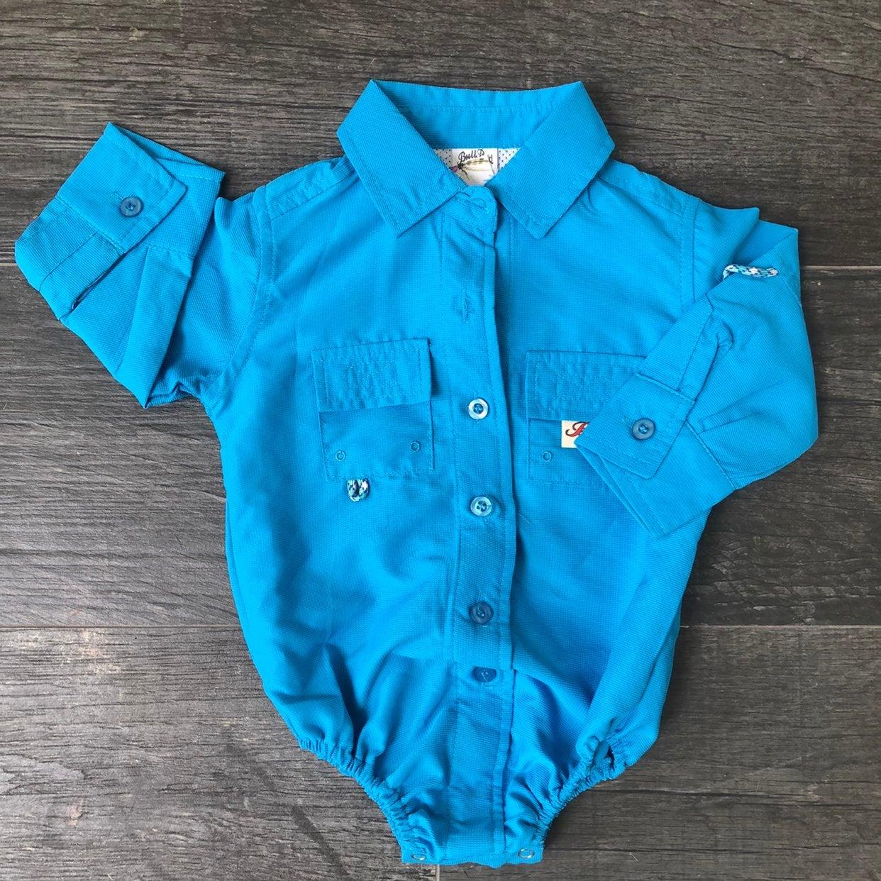 Baby fishing shirt onesie