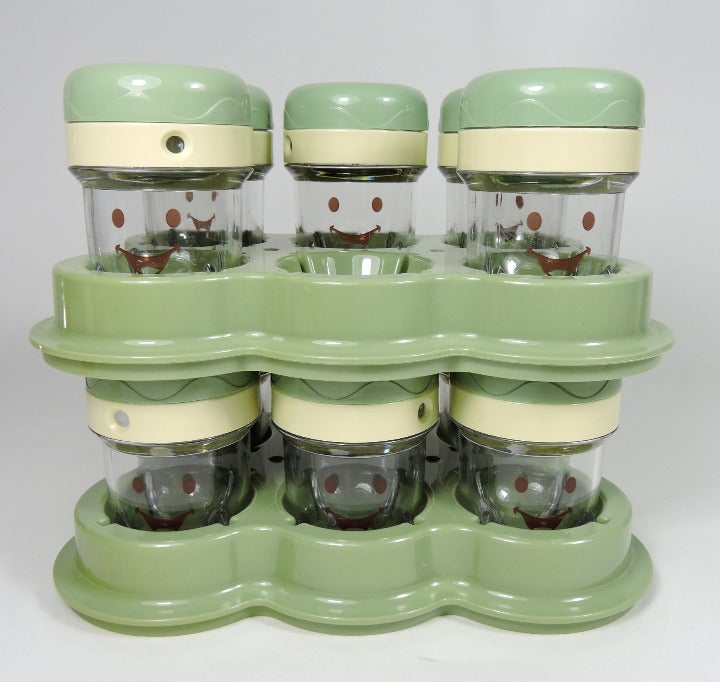Baby Bullet 11 Storage Cups & 2 Trays