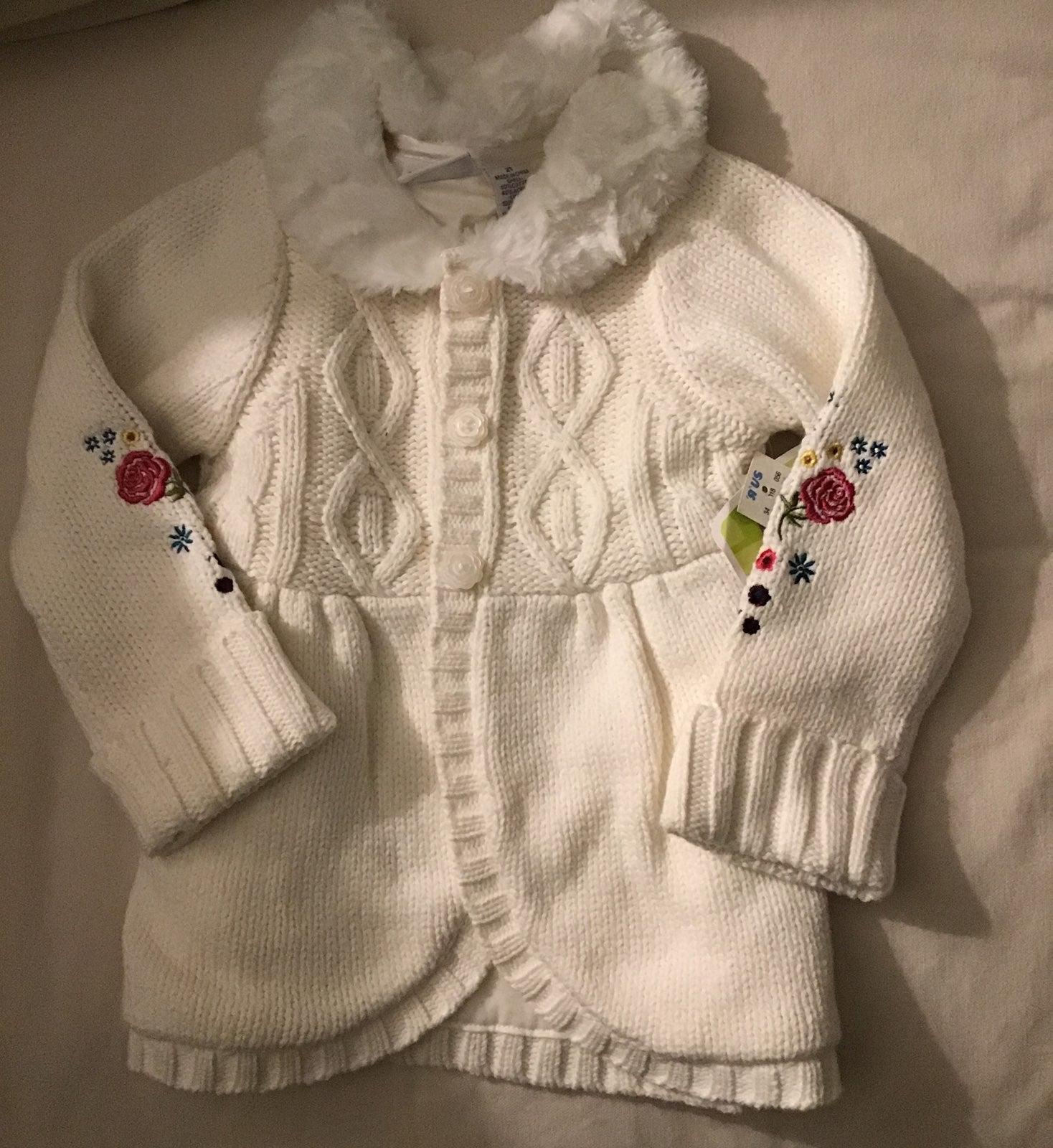 2T Princess Sweater