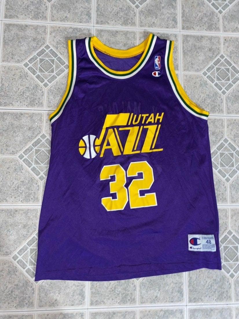 Vintage Utah Jazz Karl Malone #32 Jersey