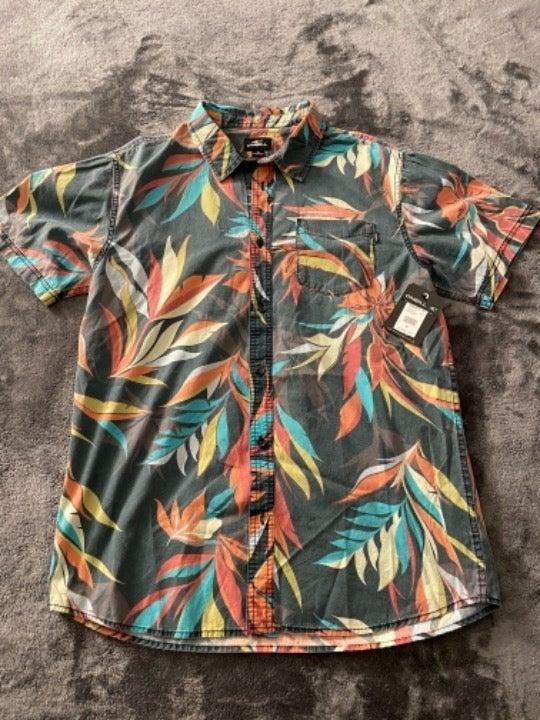 Men's O'Neill Collared Button Shirt NEW