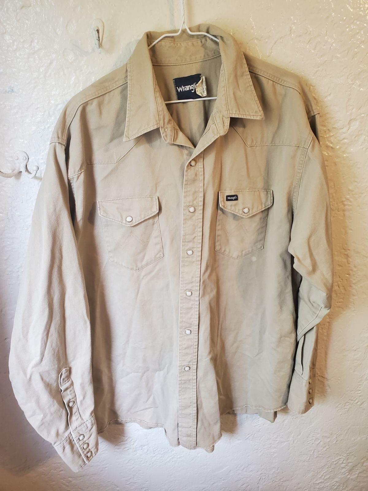 2XL Wrangler Work Shirt