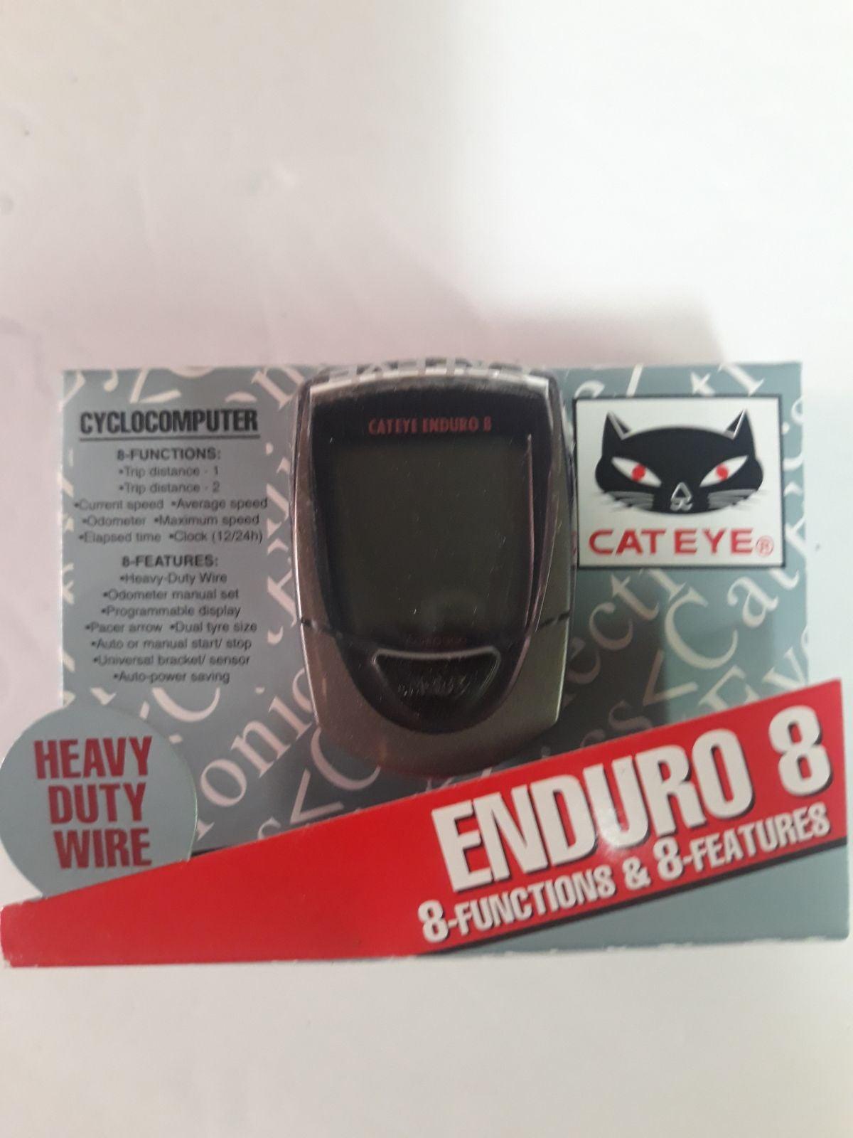 Cateye Enduro 8 Cycling Computer