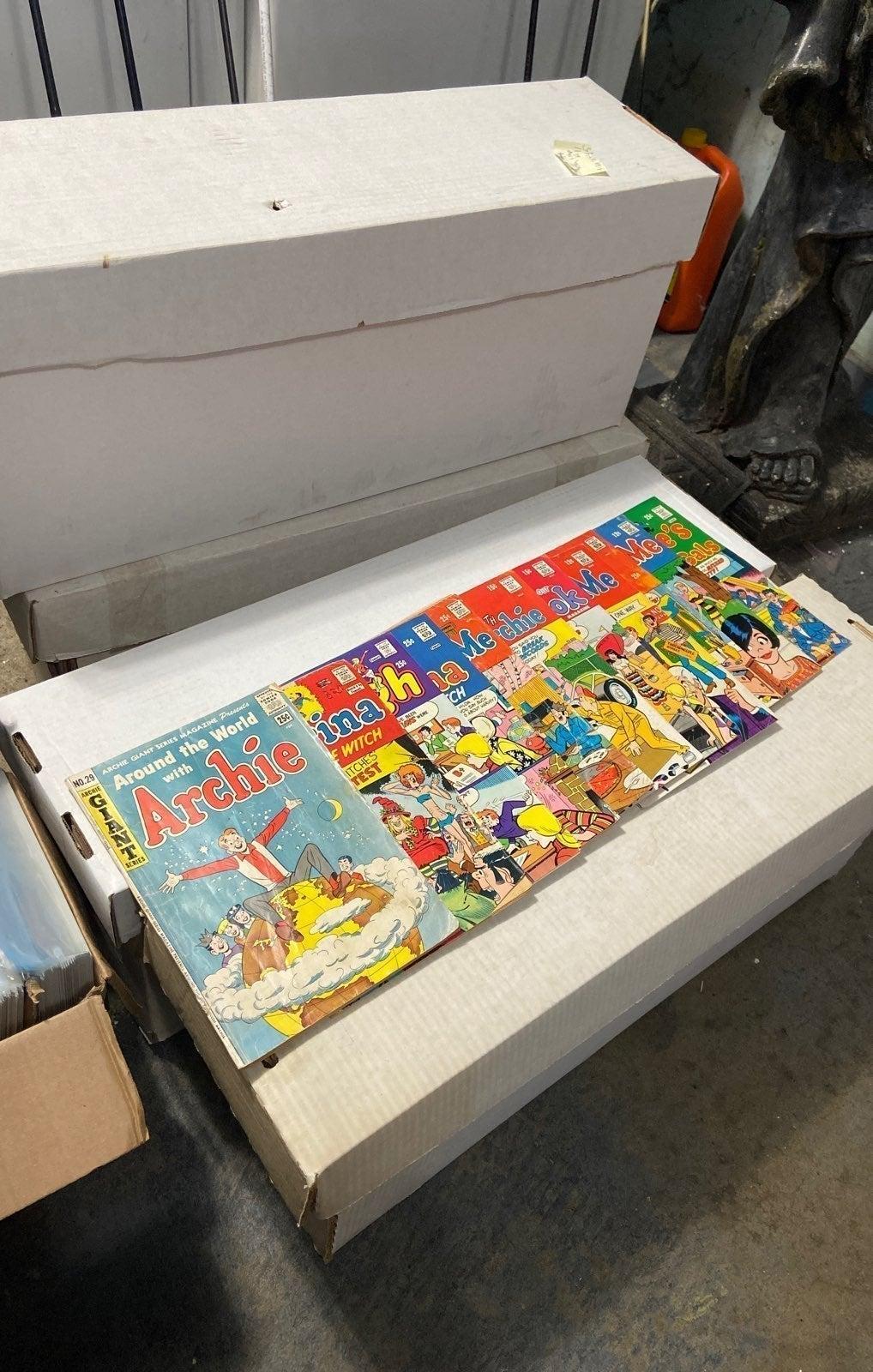 Random Archie Series Comics Lot of 10
