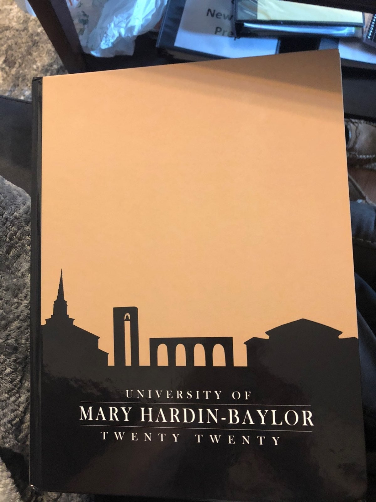 UMHB 2020 yearbook Mary Hardin Baylor