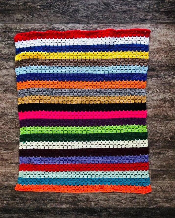 Baby blanket afaghan crochet
