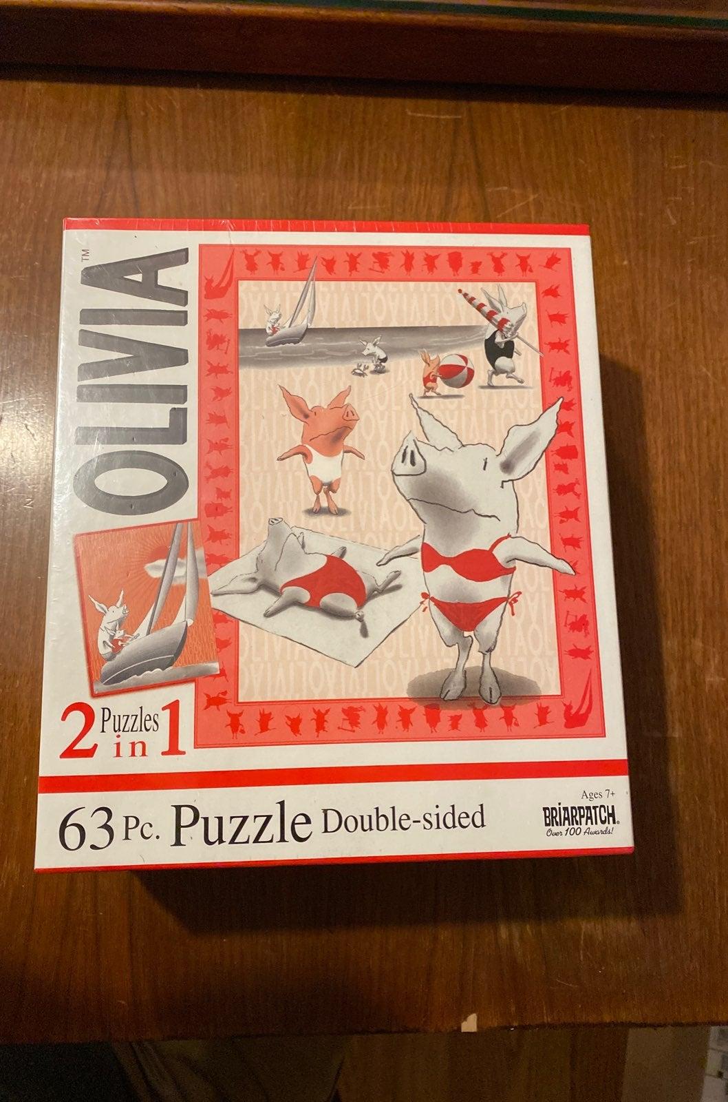Olivia 2in1 63 piece puzzle