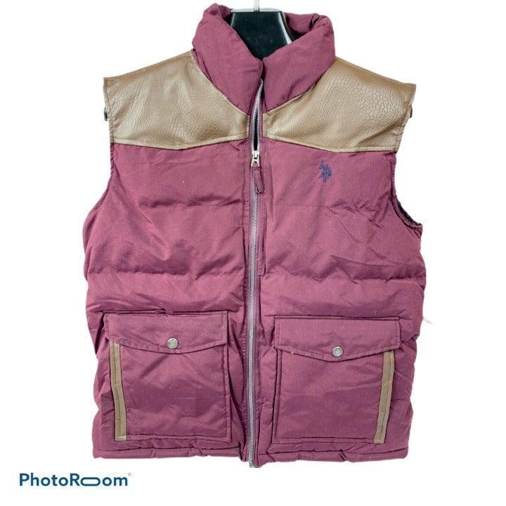 Men's U.S. Polo  Puffer Vest Jacket