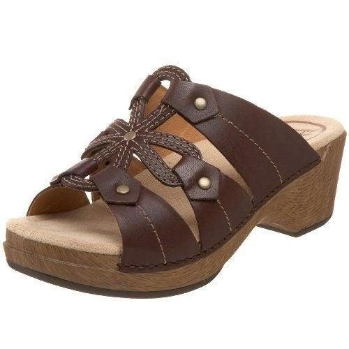 Dansko 'Serena' Leather Sandal, Size 40