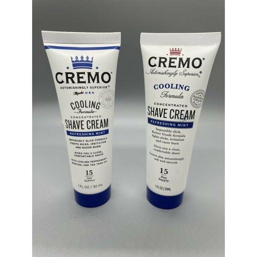 2X Cremo Men Shave Cream Mint #B203