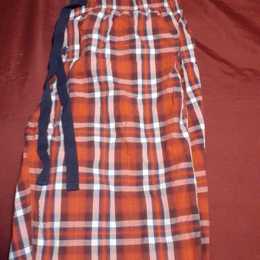 Cremieux red plaid lounge pants