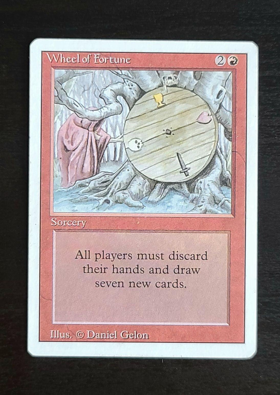 MTG Wheel of Fortune- REVISED- LP