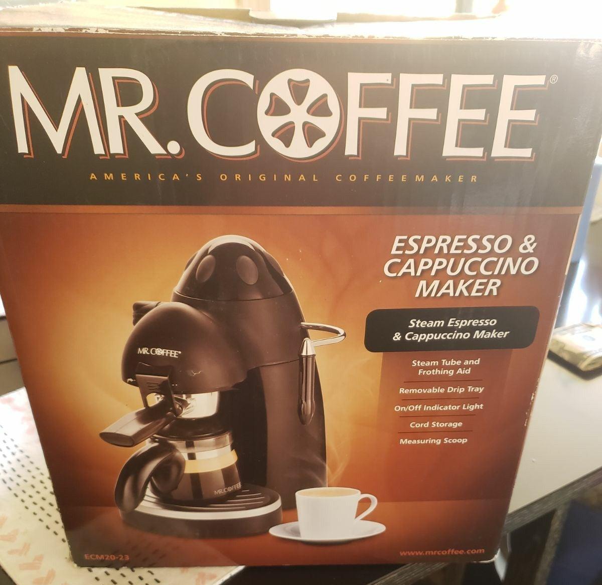 Mr Coffee Espresso/Cappuccino Maker