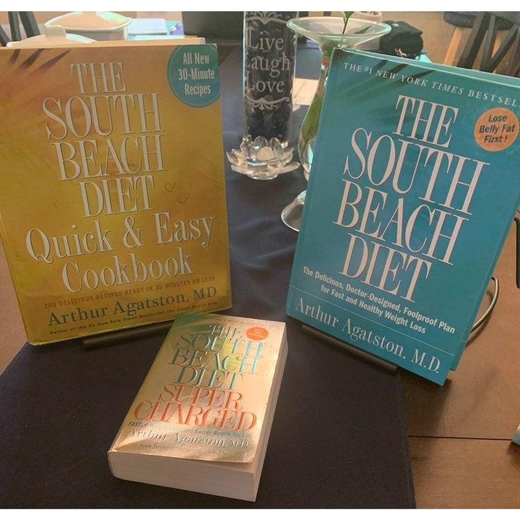 South Beach Diet 3 Books Bundle