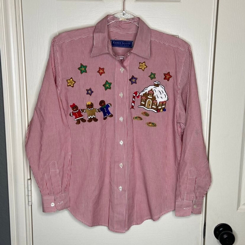 Karen Scott Christmas Shirt