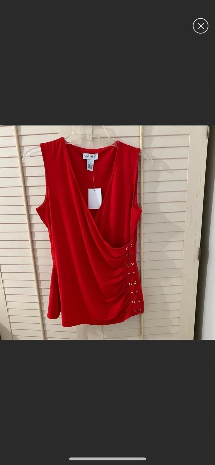 NWT Red Tank