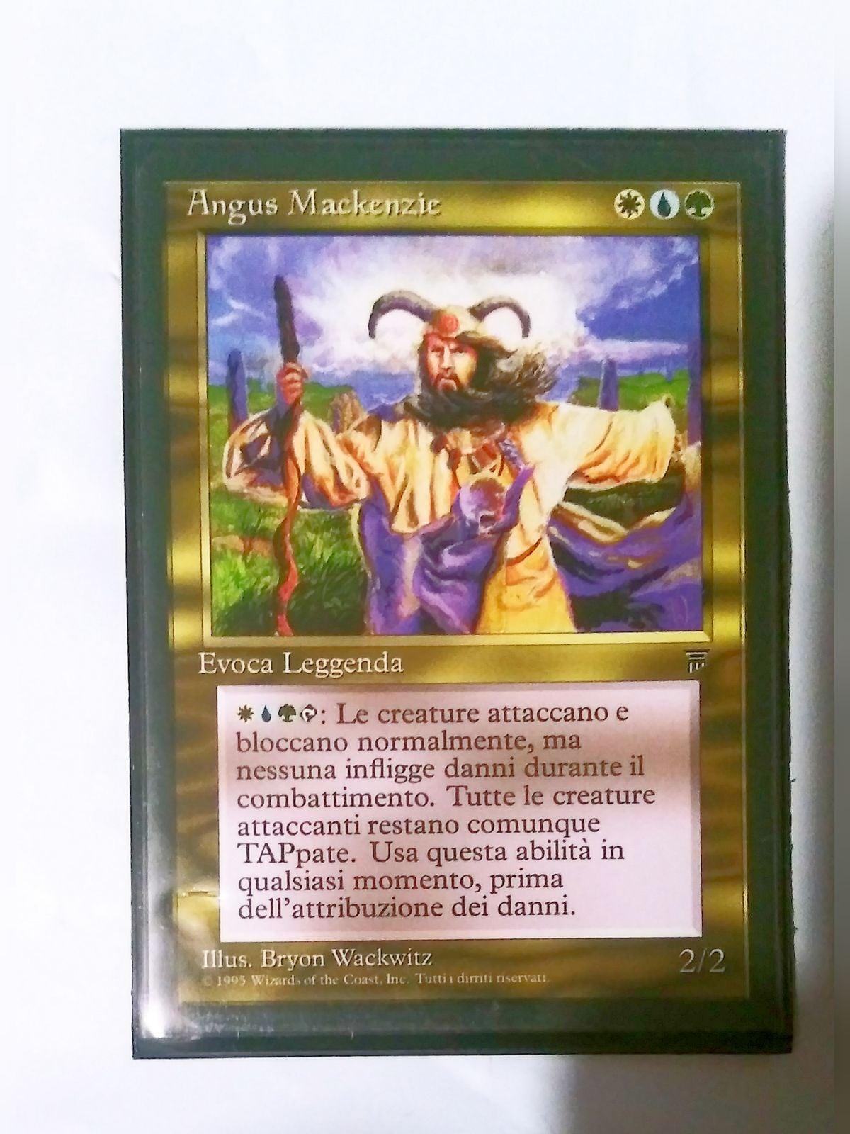 MTG Angus Mackenzie (Italian)