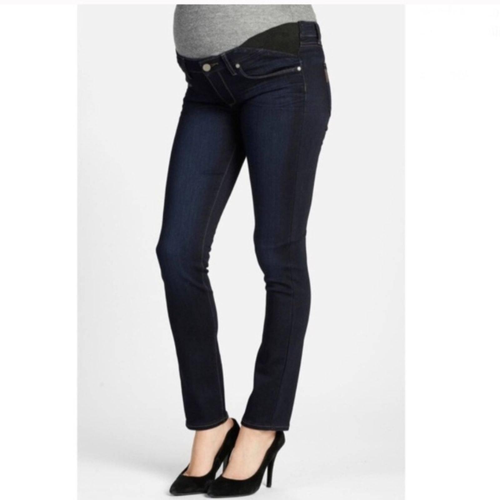 PAIGE Skyline Skinny Maternity Jeans